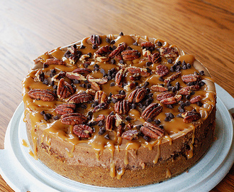 Pecan Turtle Cheesecake