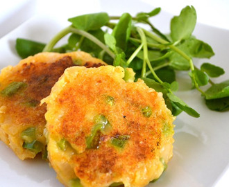Gluten and Dairy Free Bolinho de Batata (Potato Patties)