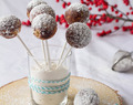 Blogging under the Mistletoe | Stollen Cake Pops