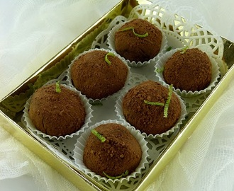 Truffles sa limetom i medom / Lime And Honey Truffles