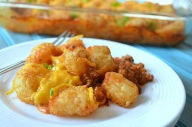 Sloppy Joe Tater Tot Casserole – Sloppy Joe Recipes [Copycat]
