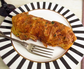 Omelete de frango | Food From Portugal