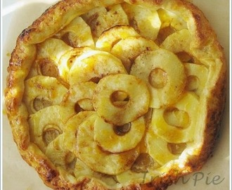 Brown Butter Apple Tart / Braune Butter Apfeltarte