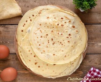 Crepes ricetta light