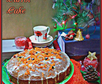 Celebrate Christmas with Ginger carrot Cake