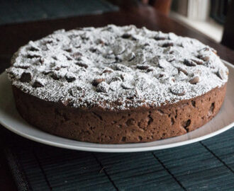 Chocolate Zucchini Cake Recipe #SundaySupper