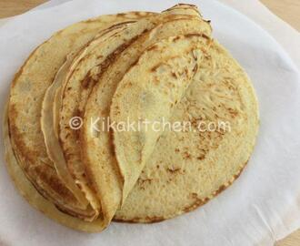 Crepes salate (ricetta base)