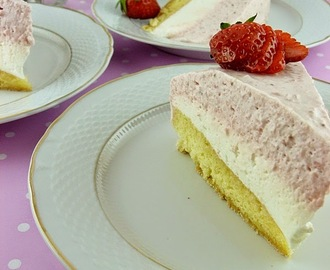 Torta sa musom od jagoda i limuna / Strawberry and Lemon Mousse Cake