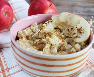 Apfel Zimt Porridge + Superfood Fact