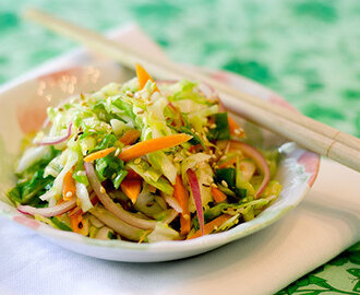 Asian Coleslaw (Dairy Free)