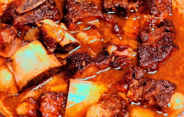Marinated Beef Short Ribs In Coconut Milk #FilipinoFoodsPhilippines