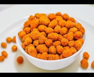 How to Make Masala Peanuts in Microwave