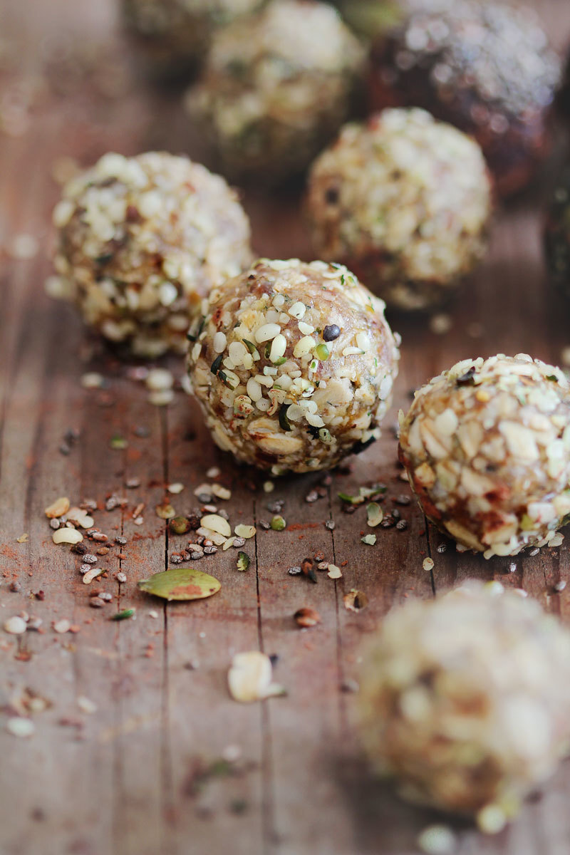 Raw Energy Power Balls – 3 Ways