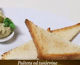 Video recept: Pašteta od tune