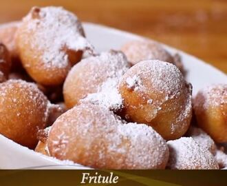 Video recept: Fritule