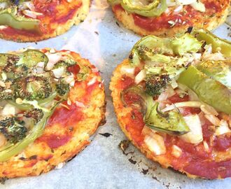 Mini pizzas sin gluten