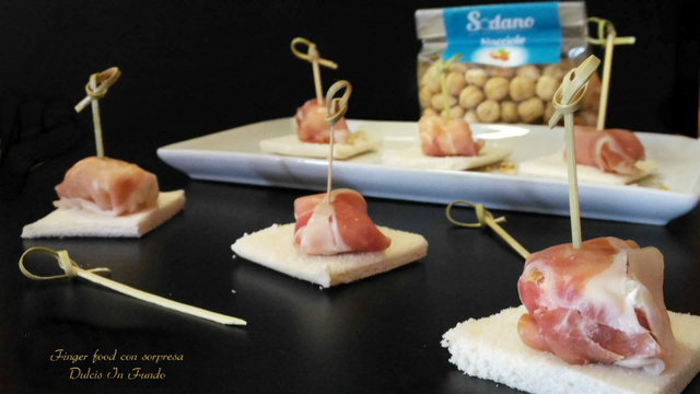 Finger food con sorpresa