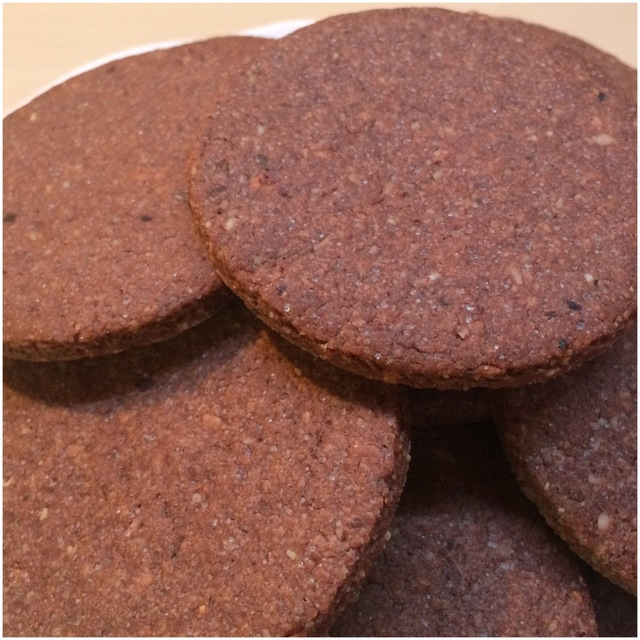Galletas de Avellana y Cacao {Color y Sabor de Temporada} {Avellana}