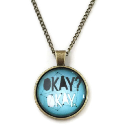 Halsband - okay? okay. - john green - the fault in our stars