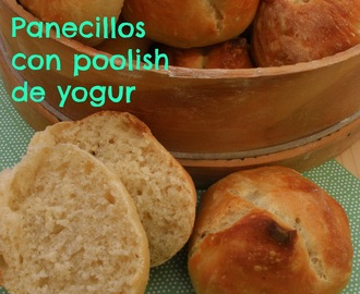 PANECILLOS CON POOLISH DE YOGUR ~ XAVIER BARRIGA