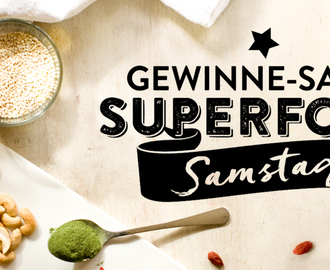 …and the Winners are…Grosse #SuperfoodSamstag-Gewinne-Sause ++ Bekanntgabe der Gewinner ++
