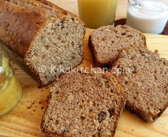 Plumcake integrale allo yogurt