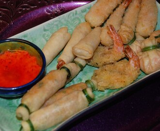 Thai selection fingerfood