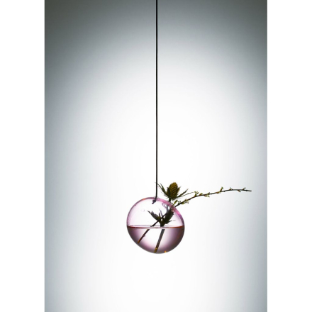 About Form and Function - Flower Bubbles - Vas - Small - Rose - Ø8 x Ø1,5 cm