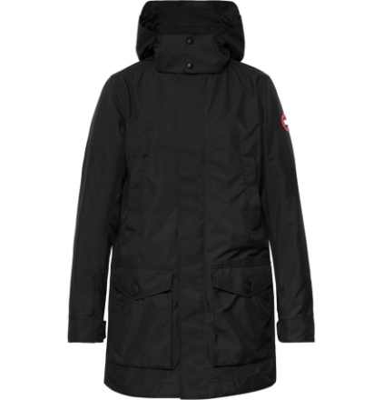 Crew Dura-force Light Shell Hooded Jacket - Black