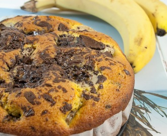 Torta banane e cioccolato / Banana and chocolate cake recipe