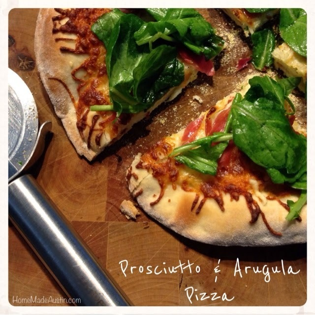 Prosciutto & Arugula Personal Pizzas + a Few Tips