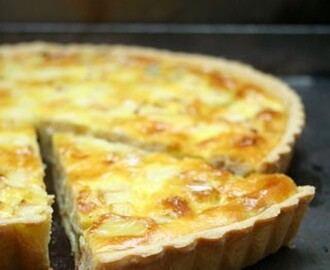 The perfect quiche (normande)