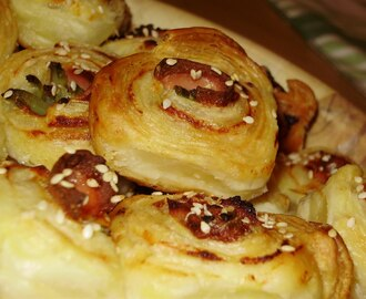 Ružice od lisnatog/Roses from puff pastry