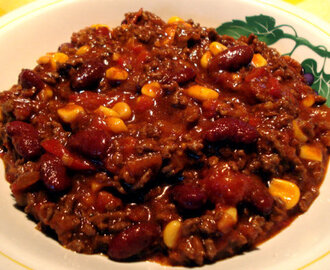 Chili con carne s grahom