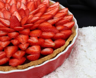 Tart od čokolade i jagoda / Strawberry Chocolate Tart