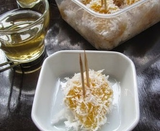 Steamed Tapioca & Sago Pudding
