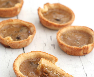 Low Carb Butter Tarts for Canada Day