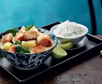 Pineapple thai chicken.