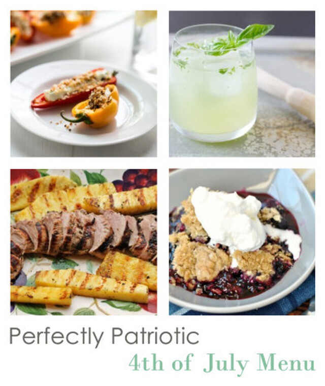 4th of July Barbecue Menu: Perfectly Patriotic