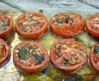 Roasted Tomatoes: Tomatoes Provencal #French Fridays with Dorie