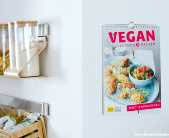 {Rezension} Vegan kochen & Backen Rezeptekalender