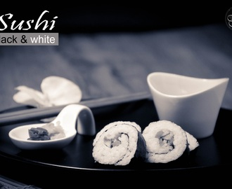 Sushi Black and White