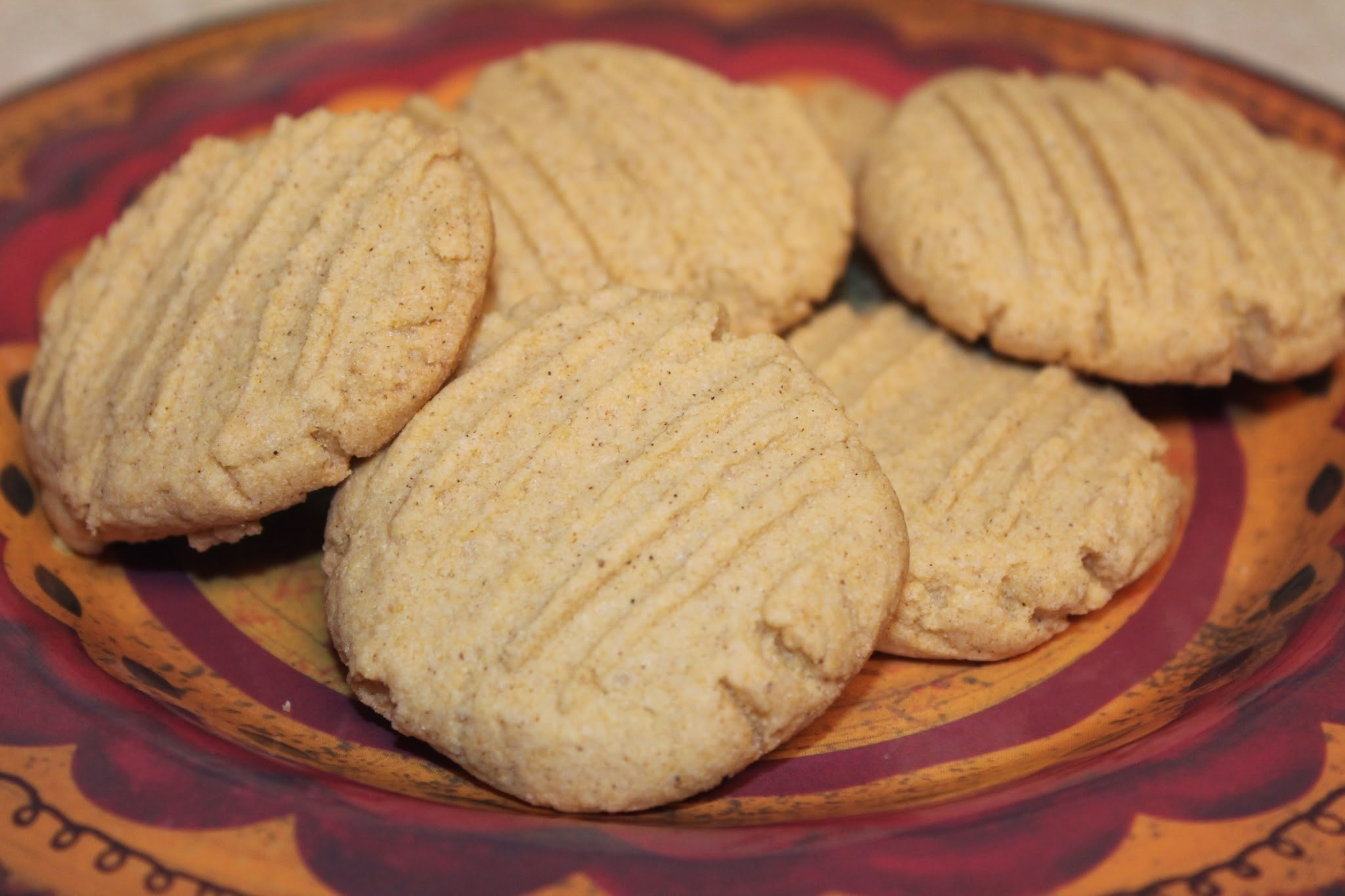 Mexican Corn Flour Cookies