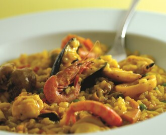 Paella all'Algherese