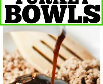 Low Carb Teriyaki Turkey Bowls