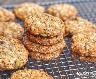 Wholemeal Oats & Seeds Breakfast Cookies