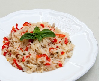 Risotto ai peperoni / Rice with peppers