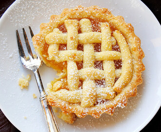 Lemon Curd or Jam Crostata
