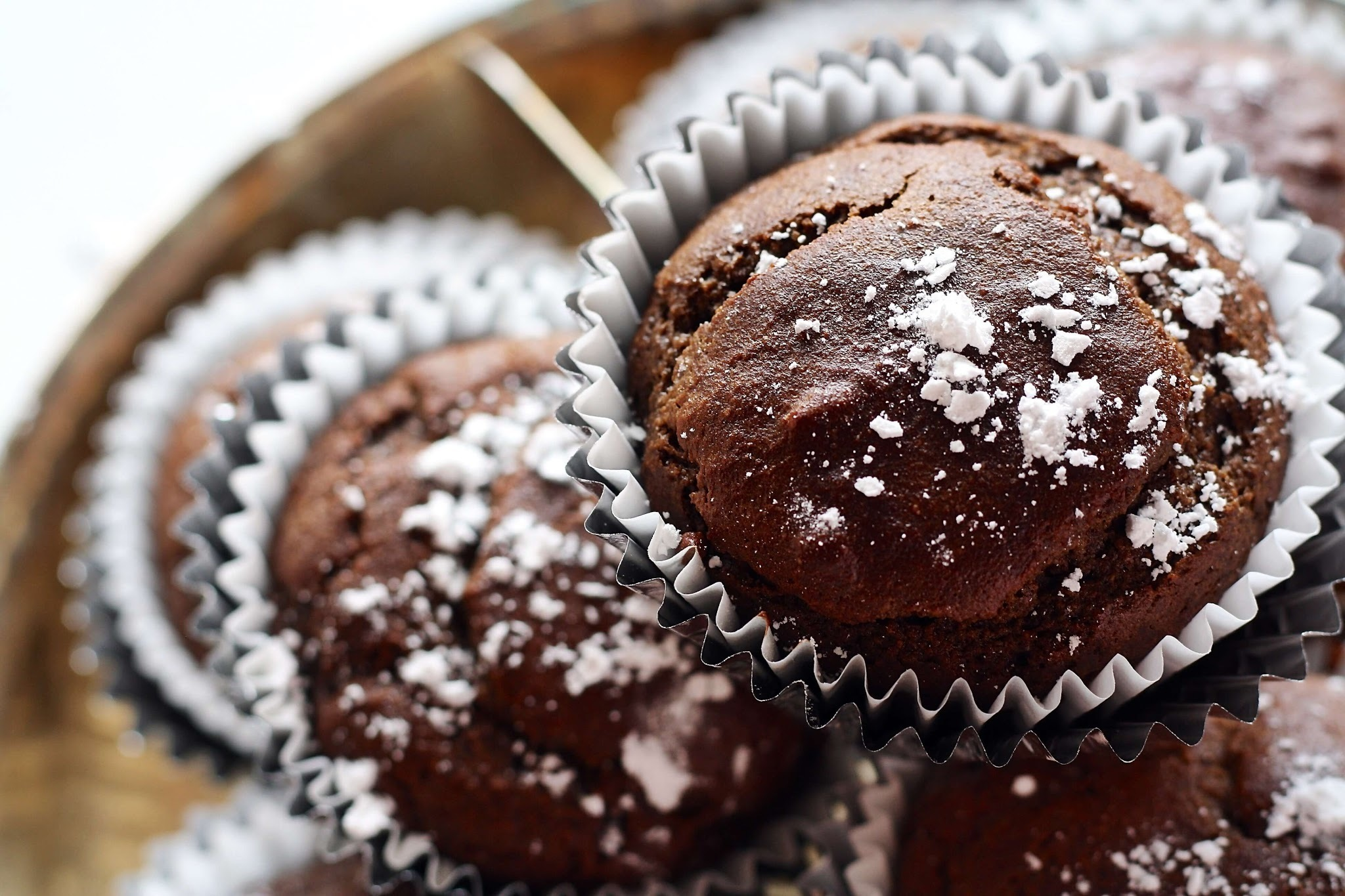 CHOCOLATE COCONUT MUFFINS