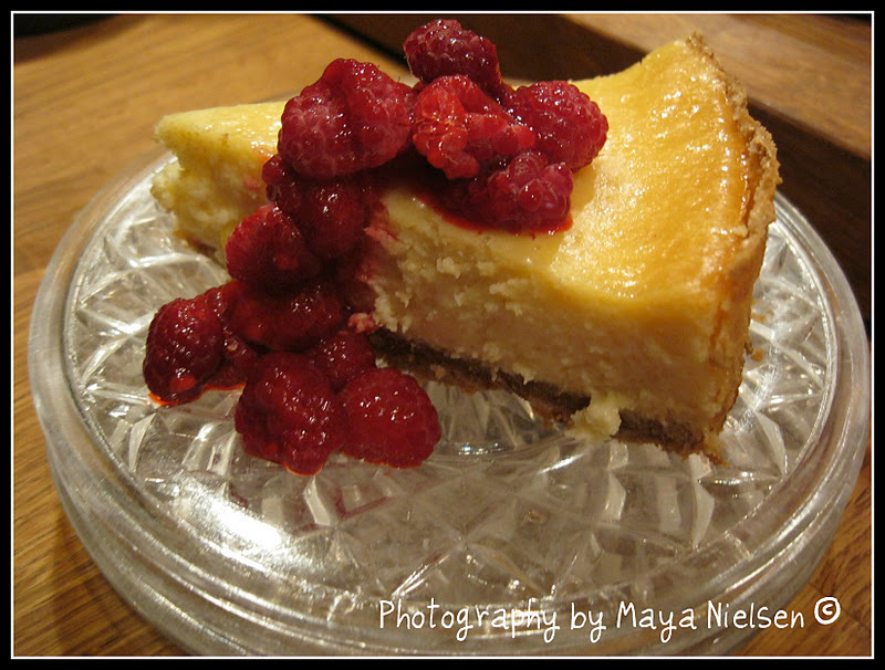 Klassisk amerikansk cheesecake